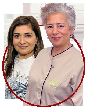 Kontaktbox Ansprechpartner Marietta Dubinski Dr. Sepideh Nouri
